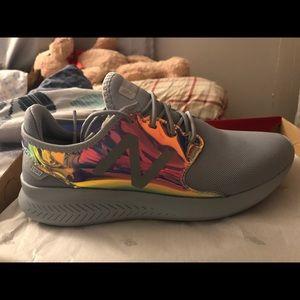 Iridescent New Balance shoes